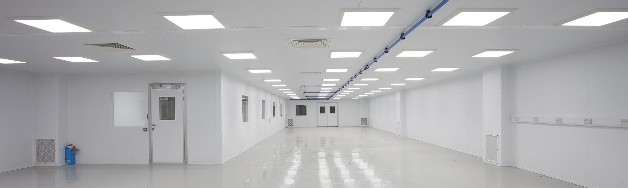 Monmouth Scientific | PIR Modular Cleanroom