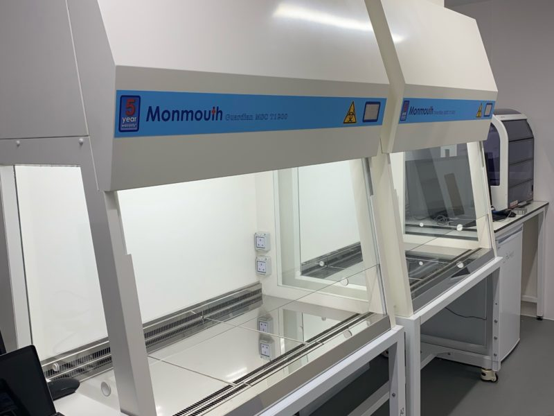 Monmouth Scientific   Class 2 BioSafety Cabinet   Open Cell