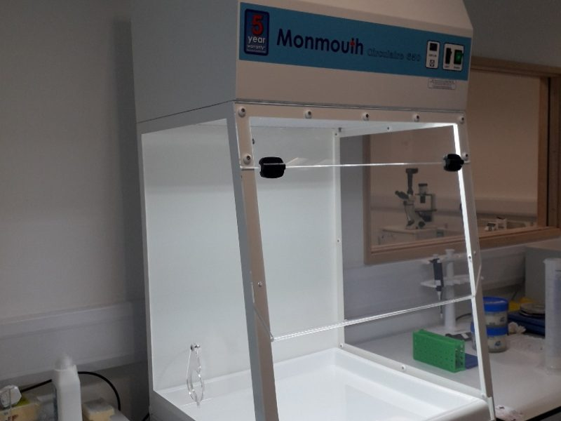Monmouth Scientific | Circulaire Fume Cupboard | HistoCyte Laboratories