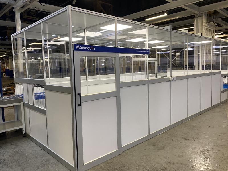 Monmouth Scientific | Aluminium-Modular-Cleanrooms | Albion Automotive