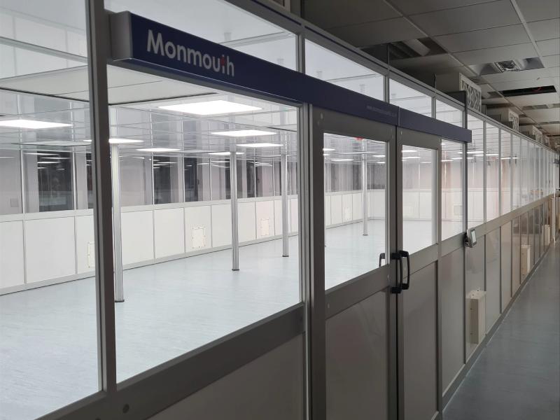 Monmouth Scientific   Aluminium-Modular-Cleanrooms   Oxford Nanopore