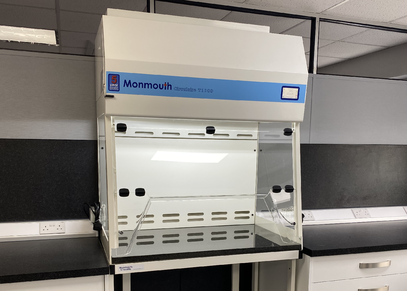 Monmouth Scientific   Products   Powder Weighing Cabinet