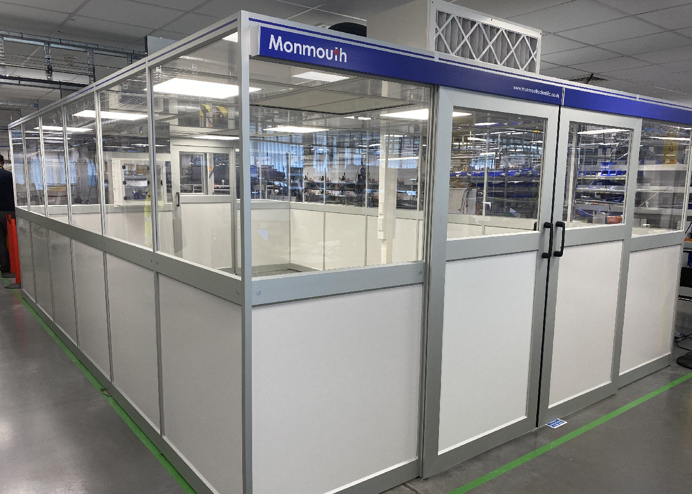 Monmouth Scientific   Products   Modular Cleanroom