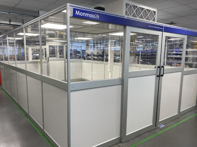 Monmouth Scientific | Products | Modular Cleanroom