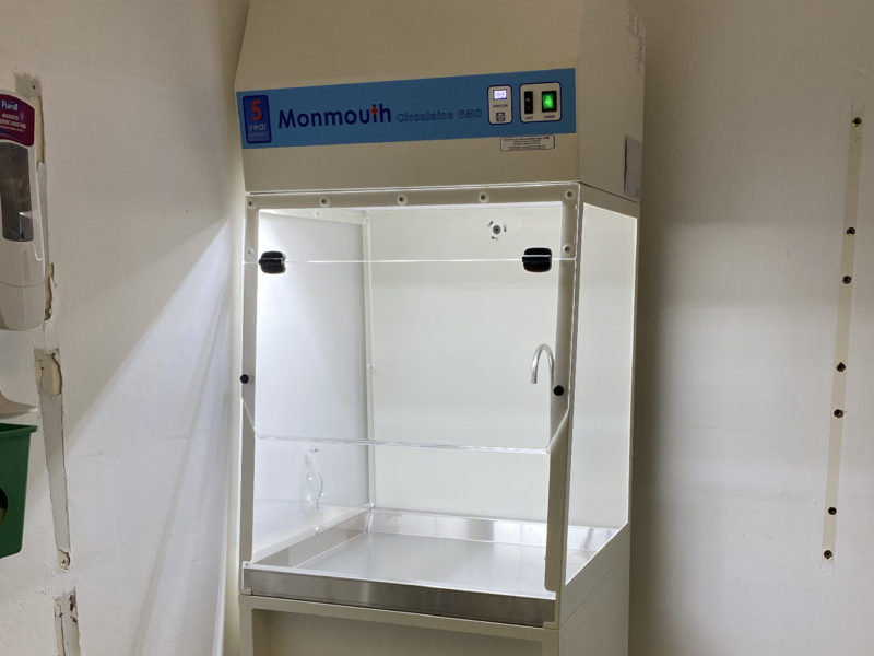 Monmouth Scientific | Products | Fume Containment